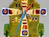 Часы настенные Мельница