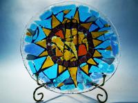 Блюдо Греция Солнце