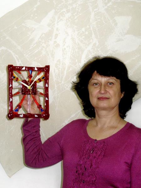 Новогодние украшения часы своими руками